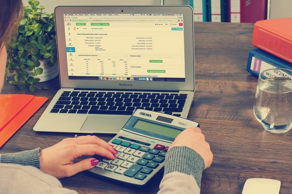Lønnsslipp og søknad om lån